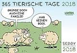 SEBBY 365 tierische Tage - Kalender 2018 - Lappan-Verlag - Andreas Brandt - Tagesabreißkalender - 16 cm x 11 cm