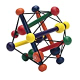 Manhattan Toy Skwish Classic Rattle and Teether Grasping Activity Toy