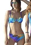 Sunflair Damen Set Bikini Copper Sunset Lycra Xtra Life UV-Schutz 50+, Gr.42C