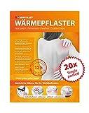 20x Wärmepflaster, Schmerzpflaster, Wärmekissen, bis zu 12 Stunden Wärmdauer