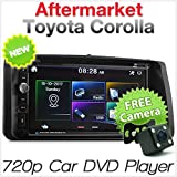 Auto DVD USB-Player Radio für Toyota Corolla 2002–2008 E120 E130 Stereo MP3 CD