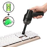 Kabellos Tastatursauger, MECO Mini Tastatur Reiniger Tragbar aufladbar Lithiumbatterie Vacuum Cleaner mit Akku, Reinigen die Lücke für Keyboard, Laptop, Auto, Sofa und Andere Möbel Geschenken