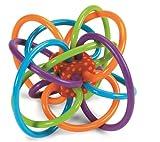 Manhattan Toy Aktivitätsspielzeug Winkel-Rassel und Sensorisches Beißspielzeug 12,7 x 8,9 x 10,2 cm