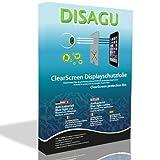 Disagu 4 x ClearScreen Displayschutzfolie für Sony Xperia M4 Aqua anti-bakteriell, BlueLightCut Filter Schutzfolie