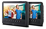 Odys Seal 7 Pro tragbarer DVD-Player (mit zusätzlichem Bildschirm, (17,8 cm (7 Zoll) Digitales Panel, USB) schwarz
