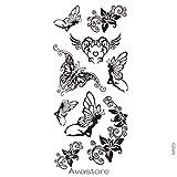 Temporäre Tätowierungen Fee Schmetterling Tattoo flüchtig Fee Schmetterling–avastore