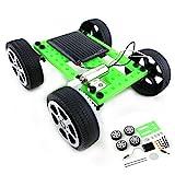 Wokee DIY Auto für Kinder 1 Satz Mini Solarbetriebene Spielzeug DIY Car Kit Kinder Pädagogisches Gadget Hobby Lustig Steine Bauen RC Autos Spielzeug--Car Kit Starter Kit Tutorial usw.
