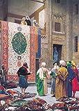 Jean-Léon Gérôme - Der Markt von Teppich