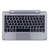 Knlona Multimode Radialwellen Tastatur Kompatibel für Chuwi HI10 PRO/Hibook/Hibook Pro Magnetic Docking Pogo Pin trennbares