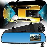 Dashcam Autokamera 1080P versteckter Auto Kamera WIFI DVR Schlag Nocken Recorder Camcorder Nachtsicht KAM Camera Bewegungserkennung | WDR | Auto DVR Camcorde | Parkmonitor | Loop-Aufnahme | Nachtsicht