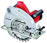 Einhell Handkreissäge TC-CS 1400 (1400 W, max. 66 mm, Sägeblatt Ø 190, 24 Zähne, Softstart, Parallelanschlag)