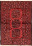 CarpetVista Afghan Teppich 98x140 Orientalischer Teppich