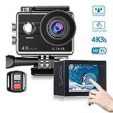 Action Cam Action Kamera ACTMAN Sport Kamera Wasserdicht Kamera HD 1080P Action Cam 4 K Wifi Touch Screen Camcorder Mounting Zubehör Kit 170 Weitwinkel