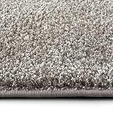 casa pura Shaggy Teppich Bali | Weicher Hochflor Teppich für Wohnzimmer, Schlafzimmer und Kinderzimmer | mit GUT-Siegel | Verschiedene Größen | viele Moderne Farben (200 x 300 cm, grau)