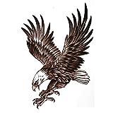 COKOHAPPY Groß Temporäre Tattoo Adler Falke Vogel Adler Falke Flügel Engelsflügel