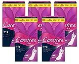 Carefree plus long – Extra lange, saugstarke Slipeinlage ohne Parfüm – Für den extra Schutz gegen Auslaufen – 5 x 40er Pack