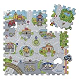 Chicco Puzzle Matten City, 9-teilig