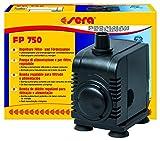 sera 30600 Filter- und Förderpumpe FP 750 regelbar für Süß- und Meerwasser (Qmax: 750 l/h Hmax: 1,50 m bei 12 Watt mit EU-Stecker und 13 mm Schlachstutzen sowie 1,8m Netzkabel)