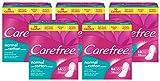 Carefree normal with cotton extract – Luftdurchlässige Slipeinlage mit Baumwolle – Für ein weiches Tragegefühl – 5 x 56er Pack