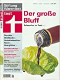 Stiftung Warentest - Der große Bluff - Balsamico im Test - 6/2011