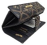 6d026735b33cd Damen XXL Geldbörse Elegant Luxus Portmonee Frauen Geldbeutel Brieftasche  Lange Geldbörse Women Wallet Viele Kartenfächer in