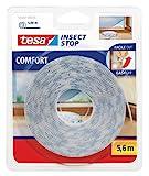 Tesa 55347–00020–00Insect Stop Comfort Selbstklebender Klettverschlussstreifen für Insektennetz, Nachfüllpackung
