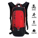 Kleiner Fahrradrucksack Trinkrucksack Wasserdicht Rucksäcke Reisetasche für Wandern, Klettern, Fahrradfahren, Fahrradrucksack, sowie Laufsport oder Camping Outdoor Sportrucksack Ultraleicht Fahrrad Rücksack von BLF