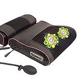 ZNDDB Nacken Schulter Massagegerät - Airbag Schulter Nacken Taille Schulter Multifunktionskörper Elektrisches Instrument Kissen Haushalt, Abnehmbar, Einstellbar