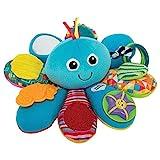 Lamaze Babyspielzeug Octivity-Spielkrake mehrfarbig - hochwertiges Kleinkindspielzeug - vereint Kuscheltier und Greifling - fördert die Motorik Ihres Kindes - ab 6 Monate