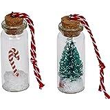 Spiegelburg Weihnachten im Glas 2 er Set Weihnachtszeit! Tannenbaum und Zuckerstange