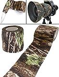 Outdoor Saxx - Camouflage Tarn-Tape Real Forest | Gewebe-Band Wasserfest Mehrfach verwendbar | Kamera, Ausrüstung, Jäger, Angler, Fotografen | 4,5m
