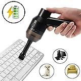 Kabellos Tastatursauger, CrazyFire USB Tastatur Reiniger, Mini AutoTastatursauger, Staub Reinigungs Set,Reinigen die Lücke für Tastatur, Auto, Tierhaare, Laptop,Sofa