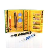 Slabo Universal Werkzeugset 38-teilig für Smartphone / Handy / Laptop / PC / iPhone / MacBook Schraubendreher Set Repair Tool Kit