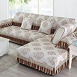 WANGS Moderne Sofa-Abdeckung Anti-Rutsch-Sofa Deckel Sofa Werfen abdeckungen Rücken und armlehne Separat Gesteppte Möbelabdeckung beschützer für Haustier Einfach für Alle searon-F 35x63inch(90x160cm)