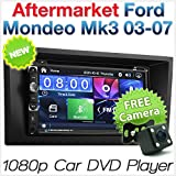 17,8 cm Auto DVD-Player USB MP3 Für Ford Mondeo MK3 Faszie Kit ISO Stereo Radio CD