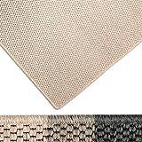 casa pura Moderner Teppich in Premium Sisal Optik | Ausgezeichnet mit Gut-Siegel | Pflegeleichtes Flachgewebe | Viele Größen (Beige, 200x300 cm)