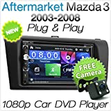 17,8 cm Auto DVD Player für Mazda3 Mazda 3 BK Stereo Radio MP3 surroundopel ISO Kit