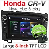 Honda CR-V CRV 20,3 cm KFZ DVD MP3 Spieler & Stereo-Radio Head Unit CD Mp4 Faszie Kit