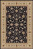 Carpetsale24 Orientteppich für Wohnzimmer kurzflor Pflegeleicht Orientalisch Traditional Afghanischer Muster Oeko Tex Standarts, Maße:200x290 cm