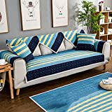 Couch Hussen Sofa Abdeckungen Für Wohnzimmer Anti-Rutsch Möbel Protector-Schnittsofa Werfen Wird als Einzelstück Verkauft-D 90x240cm(35x94inch)