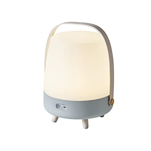 Kooduu Lite-Up Play - Design LED-Licht und Bluetooth-Lautsprecher Innovatives Licht-Objekt mit Zusatznutzen - Beleuchtung, Bluetooth-Speaker & Dekoration durch Dänisches Design - 29x40cm - Sky Blue