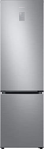 Samsung RL38T775CS9/EG Kühl-/Gefrierkombination, 203 cm Höhe, 390 Liter, Premium Edelstahl Look, No Frost + Space Max, Metal Cooling