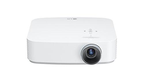 LG Beamer PF50KS bis 254 cm (100 Zoll) CineBeam LED Full HD Projektor (600 Lumen, USB Type-C, webOS) weiß