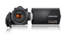 Samsung HMX-H204 Camcorder (Full HD 1920x1080 50i, 20x optischer Zoom, 16GB Speicher, 6,85 cm (2,7 Zoll)) schwarz