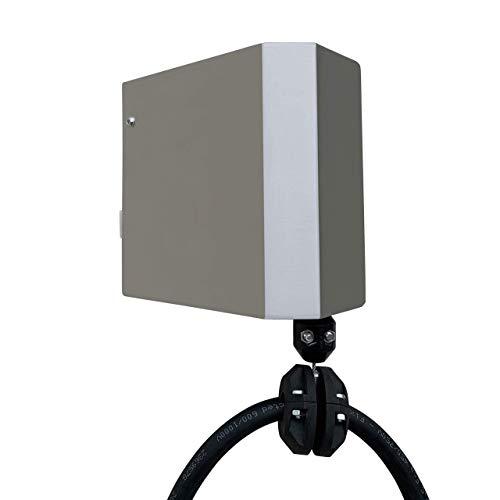 Clean Charge Wallbox Kabelhalterung für Elektroauto Typ 2 Ladekabel Ladesäule 11kW - 22kW von 3-7m