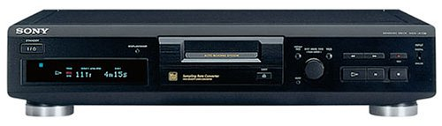 Sony MDS-JE330 MiniDisc-Deck schwarz