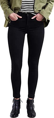 Levi's Damen 720 Hirise Super Skinny Jeans, Black Galaxy, 28W / 30L