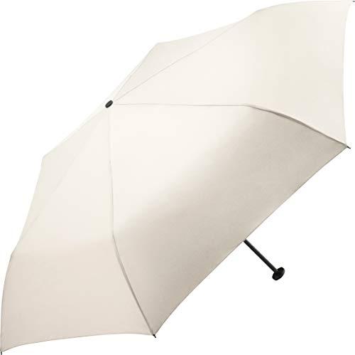 FARE Ultraleichter Mini-Taschenschirm Filigrain Only95 - Mit nur 95 Gramm der leichteste Regenschirm am Markt; Packmaß nur 20cm; perfekt für Jede Handtasche (Creme)