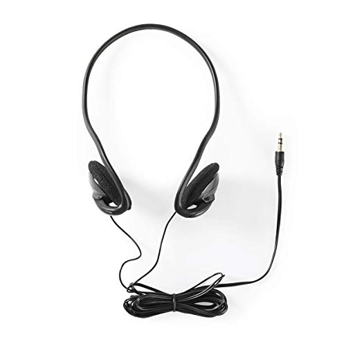 Design Kopfhörer Nackenbügel Neckband - Stereo Kopfbügel Headphones - 3,5mm Klinke für Smartphone iPhone Handy MP3 Ipod Pc etc.