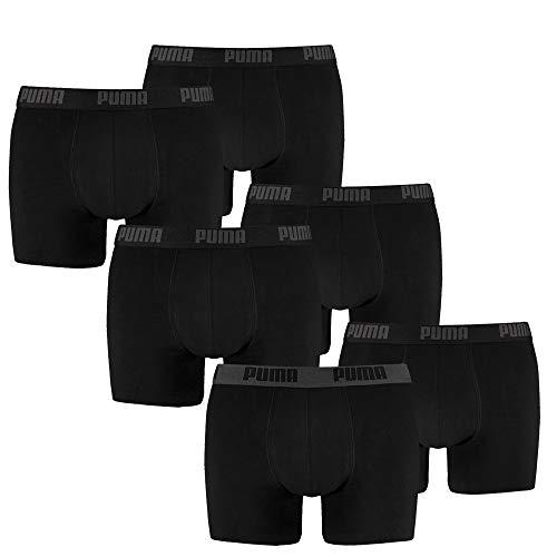 PUMA Herren Boxershort Limited Statement Edition 6er Pack - Black Combo - Gr. XL